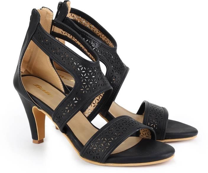 Bata Women Black Heels - Grabfly- Best