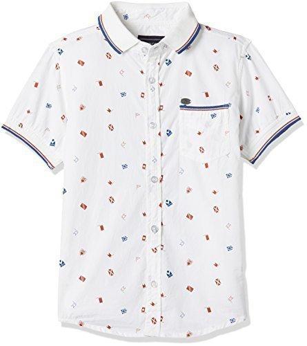 dcaa16e51 50% Cherokee Boys  Regular Fit Cotton Shirt (272246080 White 13Y HS)
