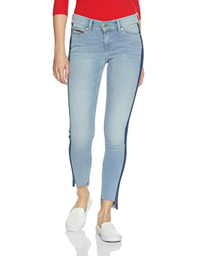 Tommy Hilfiger Women s Skinny Fit Slim Fit Jeans (P8AJD116 26 Mend Light  Blue Stretch) f23bc69715