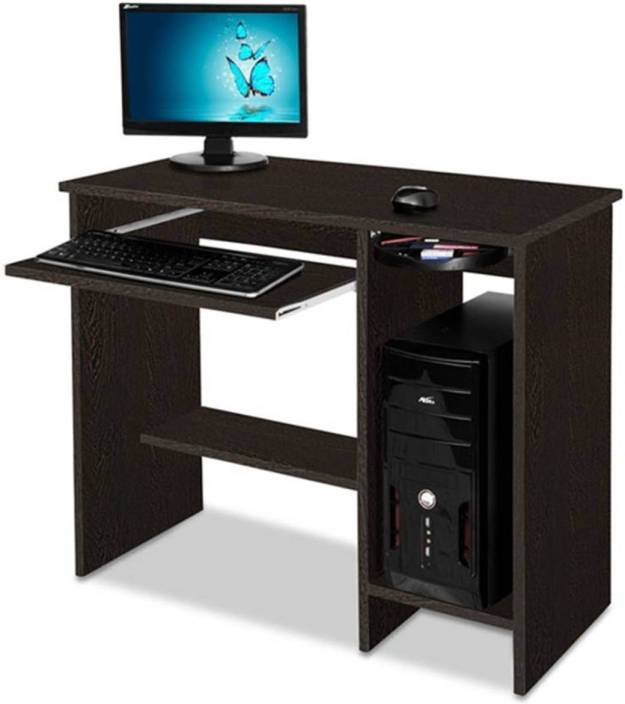 best website 47d42 1c7fc Delite Kom Nice Computer Table Wenge Engineered Wood Computer Desk