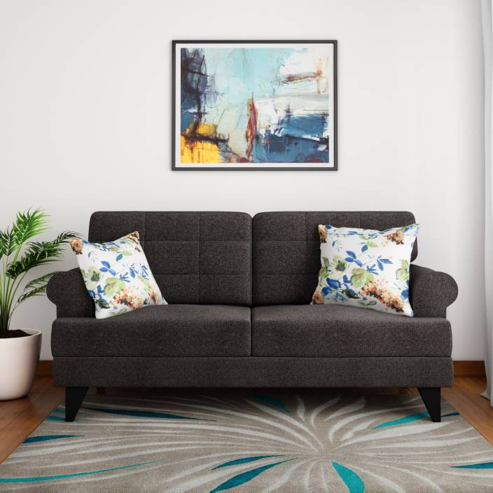 Hometown Fabric 2 Seater Sofa Grabfly Best Online Comparison Shopping