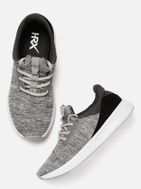24e9ce99d HRX by Hrithik Roshan Men Grey Sneakers - Grabfly- Best Online ...