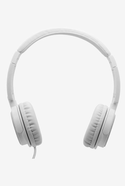 43bbb0b4efc 68% Boat BassHeads 900 Extra Bass On the Ear wired Headphones with Mic  (White)