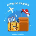 traveler-s-background-with-flat-design_23-2147641666